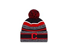 Cleveland Indians Striped Marled Knit