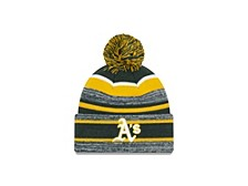 Oakland Athletics Striped Marled Knit