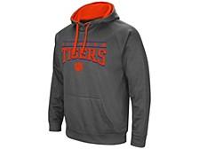 Clemson Tigers Men's Poly Performance Hooded Sweatshirt