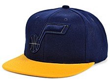 Utah Jazz 2-Team Reflective Snapback Cap