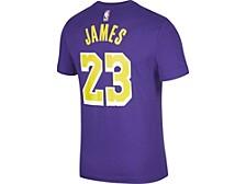 Los Angeles Lakers LeBron James Men's Statement Player T-Shirt