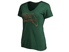Miami Hurricanes Women's State T-Shirt