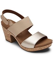 Vivianne Metallic Dress Sandals