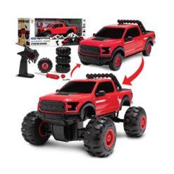 Sharper Image Monster Garage Remote Control Tire Swap 2-in-1 Custom Building Set