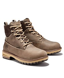"""Women's Hightower 6"""" Alloy Safety Lug Sole Boots"""
