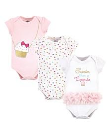 Baby Girls Cotton Bodysuits