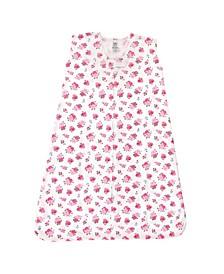 Baby Girls Jersey Cotton Sleeping Bag, Sack, Blanket, Sleeveless