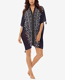 Labyrinth Caftan Cover-Up