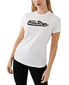 True Religion Cotton Embellished T-Shirt