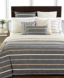 Hotel Collection Modern Colonnade Queen Duvet Cover