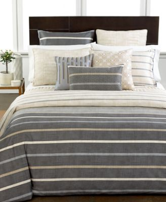Hotel Collection Modern Colonnade Duvet Covers, Created For Macyu0027s