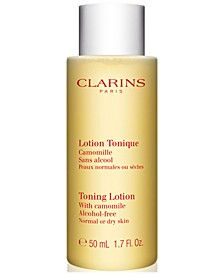 Receive a FREE Toning Lotion with any $150 Clarins Purchase (Total Gift Worth $78!)