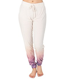 Wildflower Border Jogger Loungewear Pants