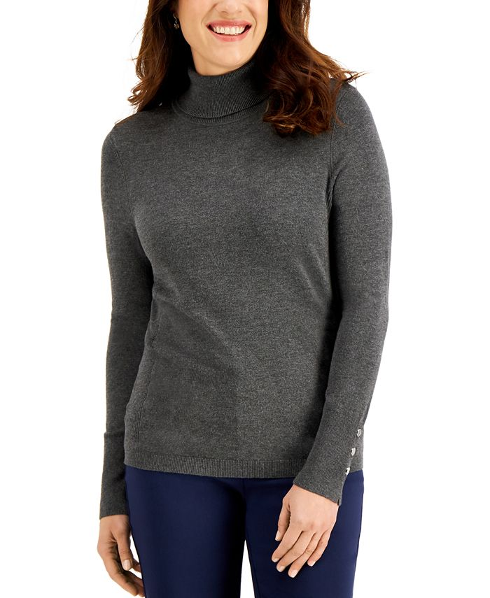 JM Collection - Turtleneck Sweater, Created for Macy's