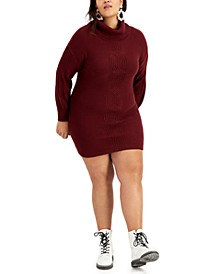 Trendy Plus Size Sweater Dress