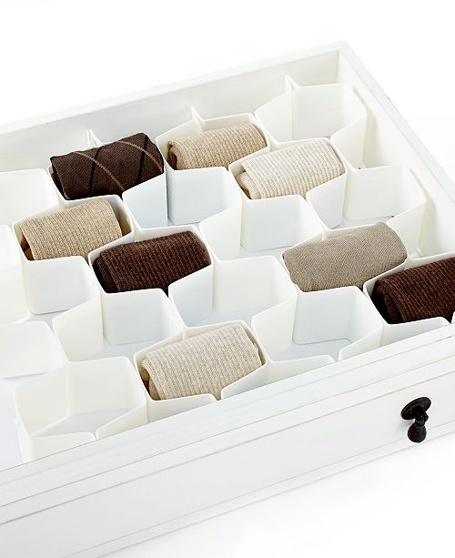 Whitmor Honeycomb Drawer Organizer