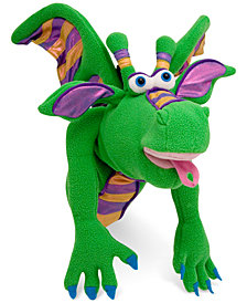 Melissa and Doug Kids Toy, Smoulder the Dragon Puppet