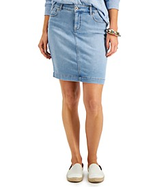 Denim Mini Skirt, Created for Macy's