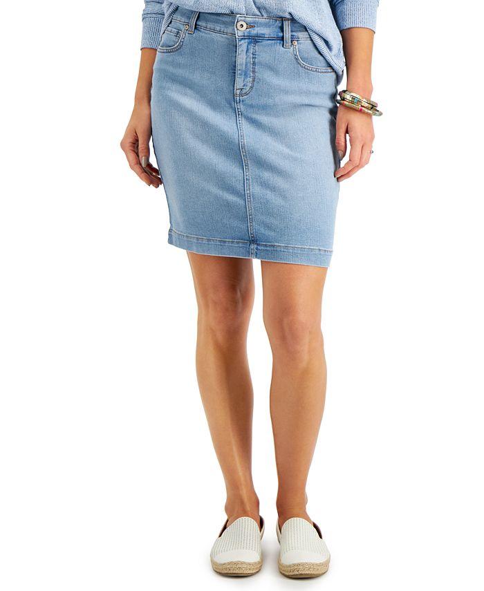 Style & Co - Denim Mini Skirt