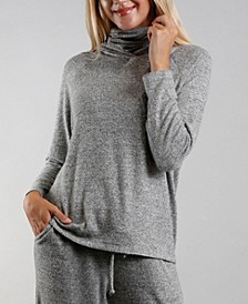 Women's Cozy Built-In Mask Hoodie