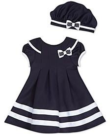 Baby Girls Nautical Dress & Hat