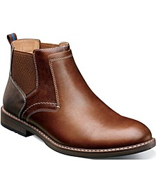 Men's Fuse Plain-Toe Chelsea Boots