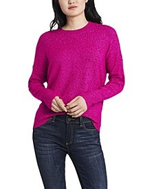 Women's Cozy Crew Neck Sweater