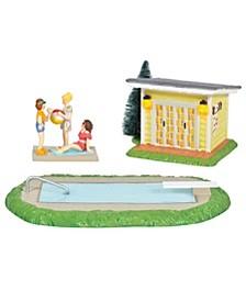 National Lampoon's Christmas Vacation Village  Pool Fantasy