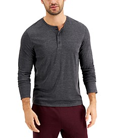 Men's AlfaTech Henley Shirt, Created for Macy's