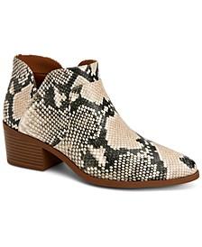 Vidyaa Ankle Booties, Created for Macy's