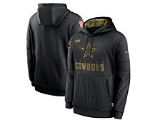Dallas Cowboys 2020 Men's Salute to Service Therma Hoodie