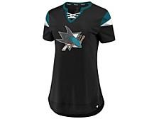 San Jose Sharks Women's Athena Lace Up Shirt