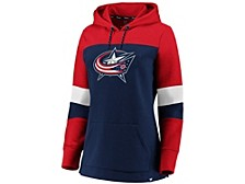 Columbus Blue Jackets Women's Colorblocked Fleece Sweatshirt