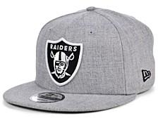 Las Vegas Raiders Basic 9FIFTY Snapback Cap