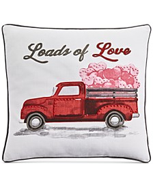 "20"" x 20"" Loads of Love Decorative Pillow"