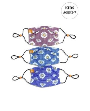 x Best Friends Unisex Kids Daisy Pleated Reversible Mask