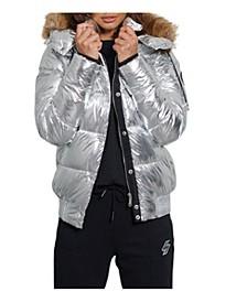 Women's Metallic Toya Bomber Jacket