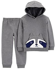 Carters Baby Boy 2-Piece Raccoon Hoodie & Pant Set