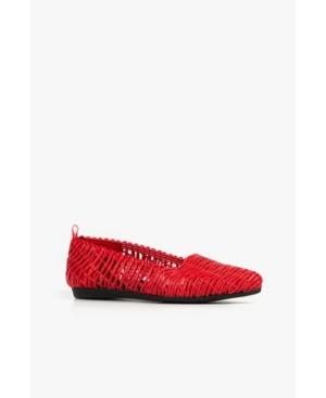 Swirl Woven Women's Flat Women's Shoes
