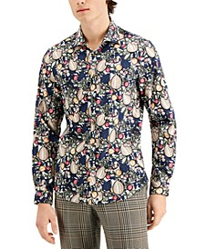 Men's Limited Edition Nuts and Berries Spread Collar Shirt
