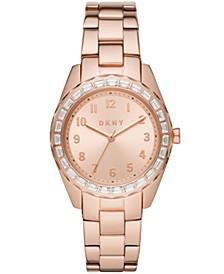 Women's Nolita Rose Gold-tone Stainless Steel Watch, 36mm