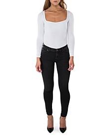 Krista Super Skinny Ankle Jeans