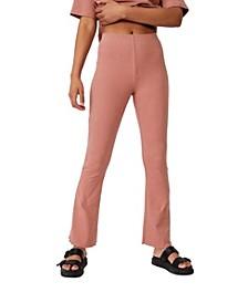 Women's Bella Rib Flare Pant