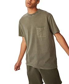 Men's Washed Pocket T-shirt