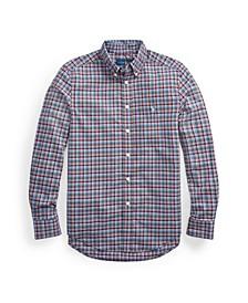 Little Boys Plaid Poplin Shirt