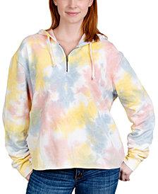 Rebellious One Trendy Plus Size Tie-Dyed Hoodie