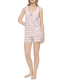 Racerback Tank & Shorts Pajama Set