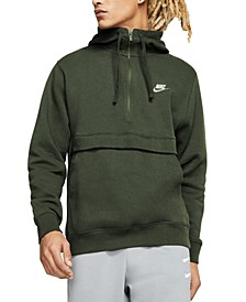 Men's Club Fleece Colorblocked Half-Zip Hoodie