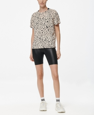 Marc New York PERFORMANCE WOMEN'S PRINTED BOXY TEE