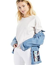Petite Cotton Crewneck T-Shirt, Created for Macy's